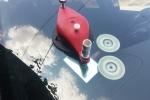 Люспа с тръгнали лъчи на Renault - 5